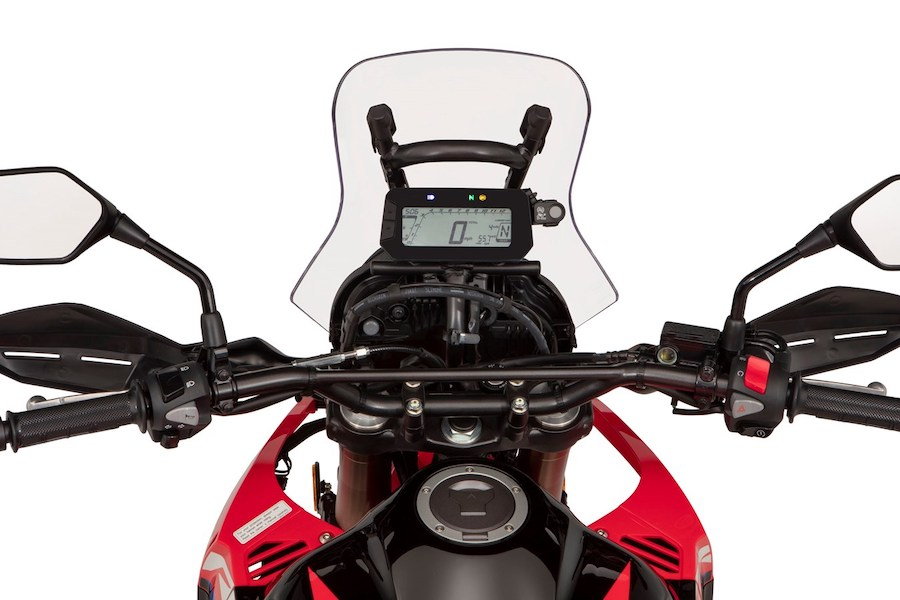 The tower of the CRF 300 Rally