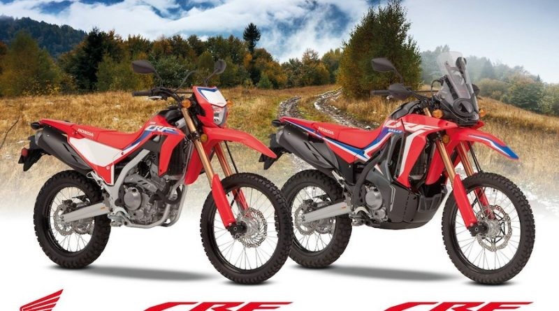 Honda CRF 300 L and CRF 300 Rally