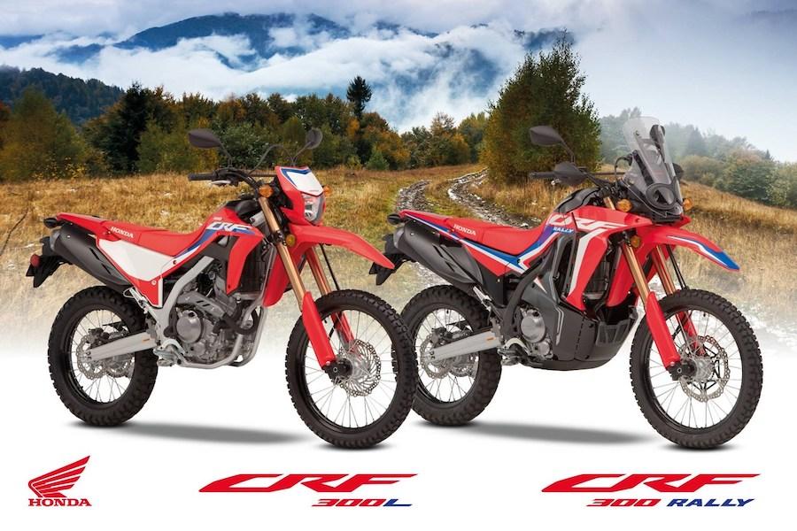 Honda CRF 300 L and CRF 300 Rally