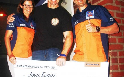 Franziska Brandl, Joey Evans and Riaan Neveling
