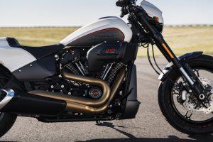 Harley-Davidson FXDR side view