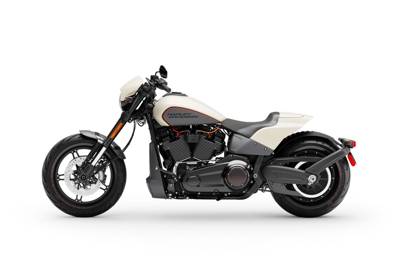 Left view of Harley FXDR