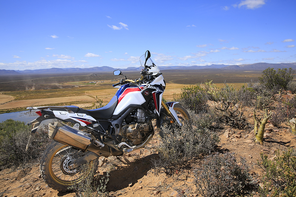 2016 Honda CRF 1000 L Africa Twin in the Western Cape