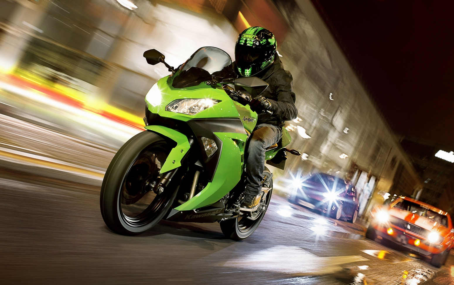 Kawasaki Ninja 300 Green » Bike Routes