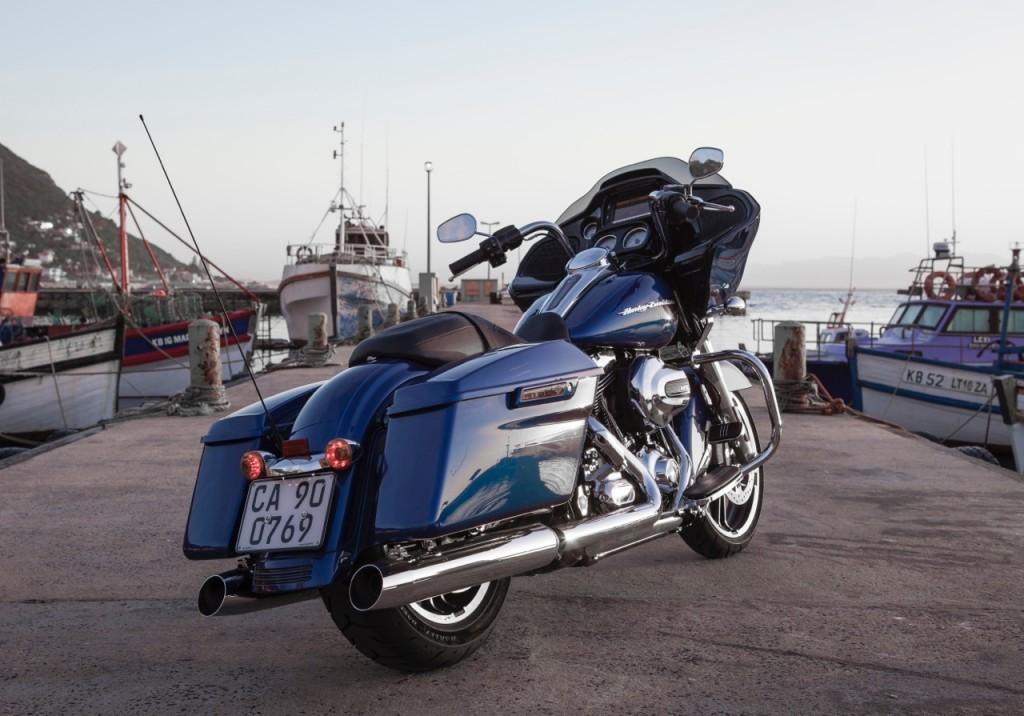 2015 Harley-Davidson Road Glide Special at Kalk Bay harbour