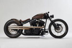 The custom-built Harley-Davidson known as The Jackal