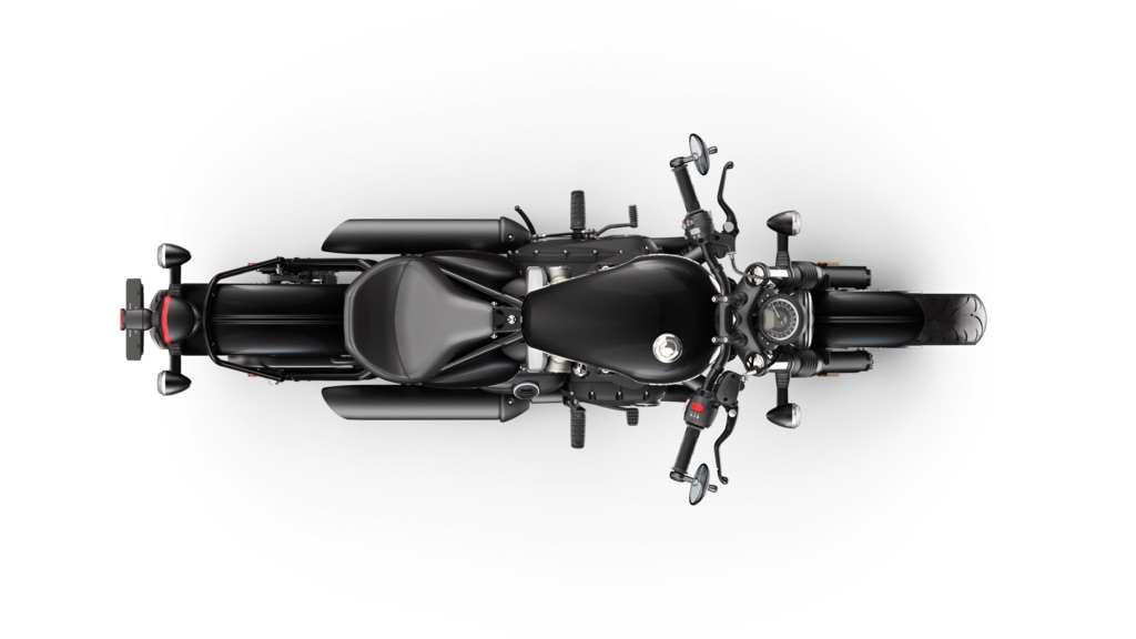The Bobber Black seen from above