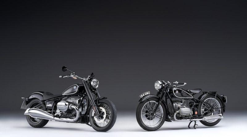 The BMW R 18 and the BMW R 5