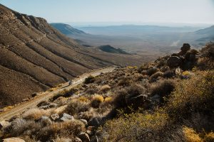 Ouberg pass in the Karoo
