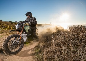 Zero DS ZF riding in the dust