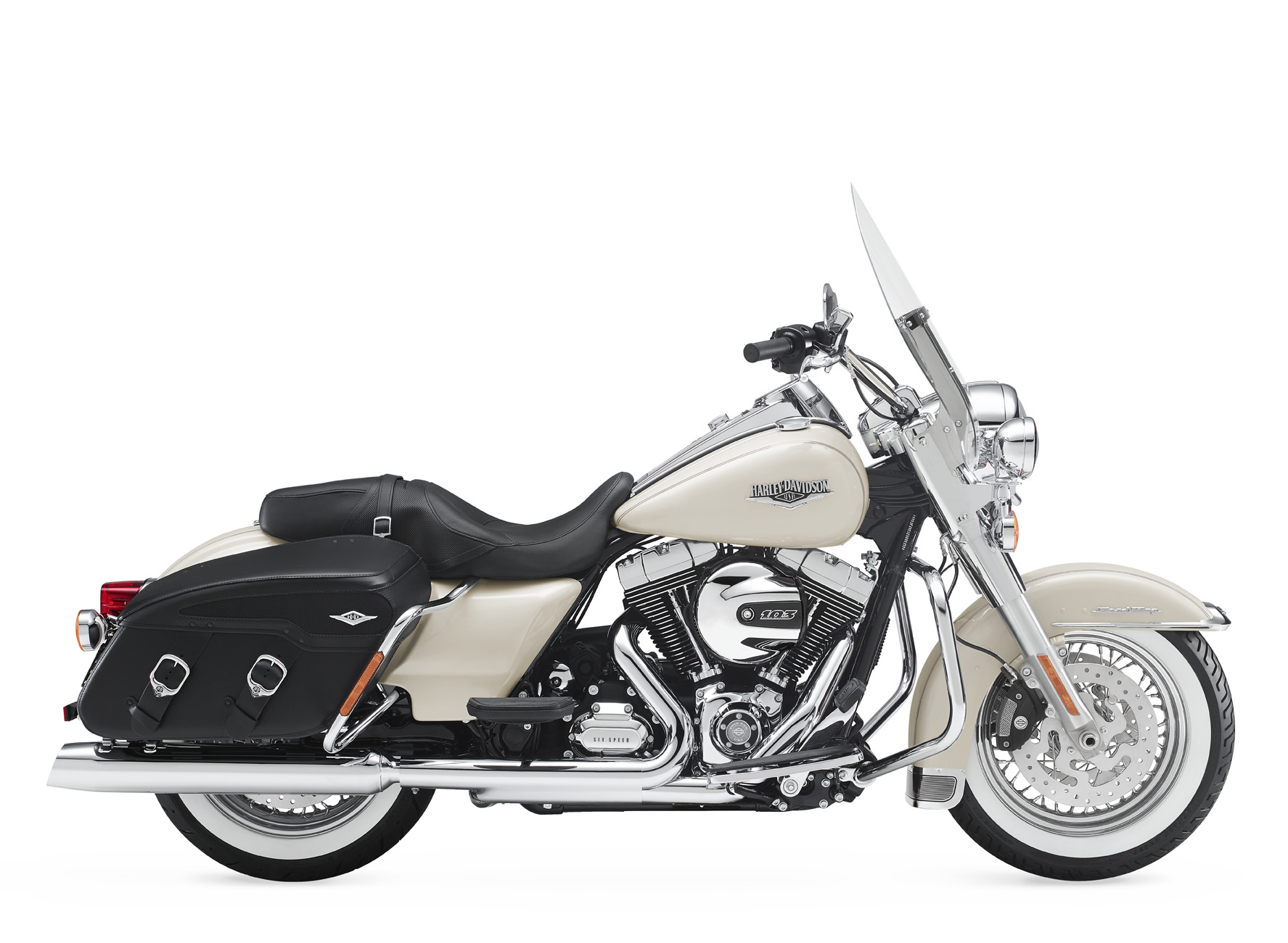 2015 harley-davidson road king special cream colour paint