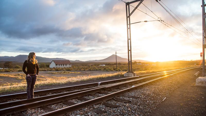 Railway line, Matjiesfontein
