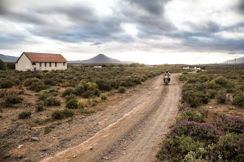 Gravel road, Matjiesfontein