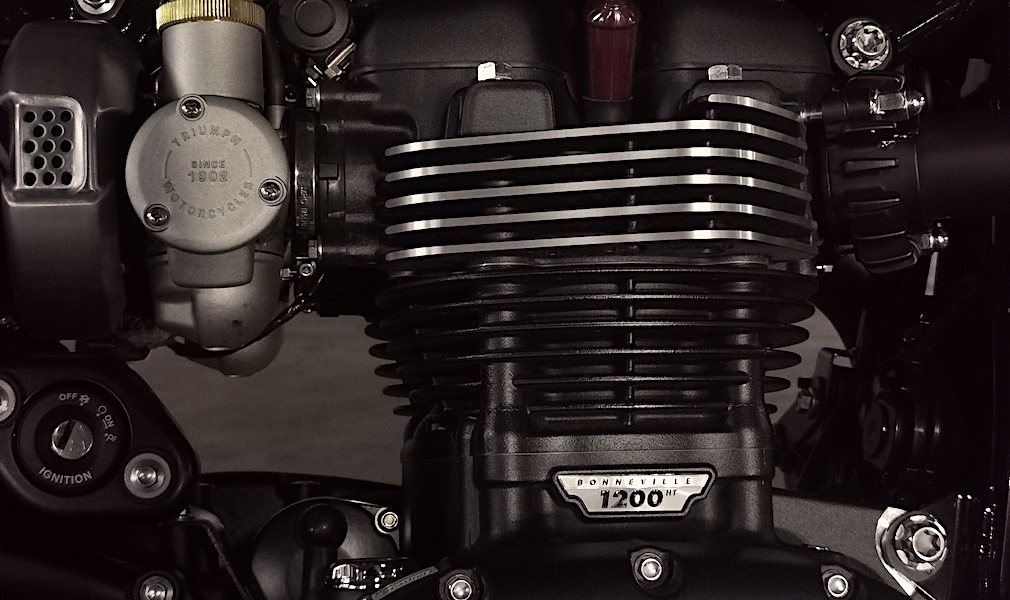 The heat sink of the engine